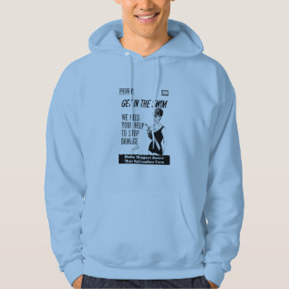 Penn Central Railroaders Care about Damage Hoodie