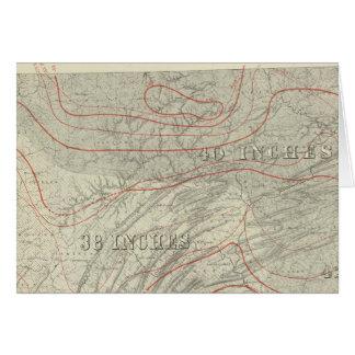 Penn climatological map card