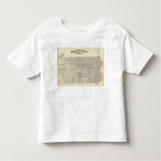 Penn climatological map tee shirt