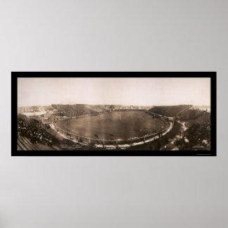 Penn contra la foto 1905 del partido de fútbol de posters