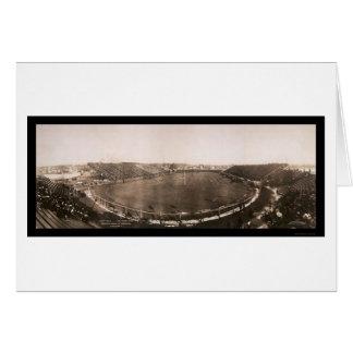 Penn contra la foto 1905 del partido de fútbol de tarjetas