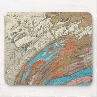 Penn geological formations mouse pad