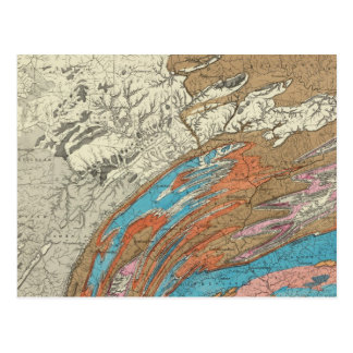 Penn geological formations postcard