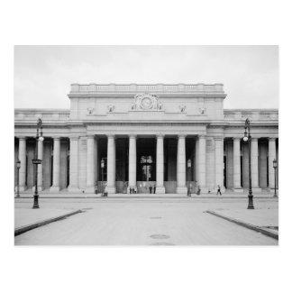 Penn Station Entrance, 1910 Postcard