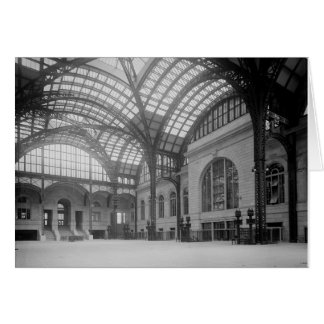 Penn Station Main Concourse, 1915 Card