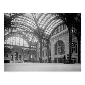 Penn Station Main Concourse, 1915 Postcard