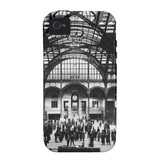 Penn Station New York City Vintage Railroad iPhone 4 Cover