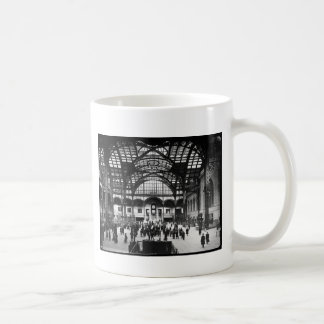 Penn Station New York City Vintage Railroad Coffee Mug
