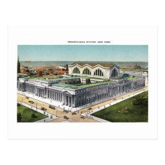Penn Station, New York Postcard