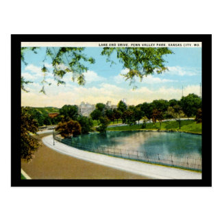 Penn Valley Park Kansas City Missouri 1920s Vintag Postcard
