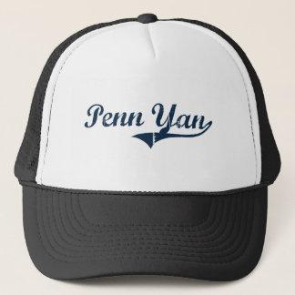 Penn Yan New York Classic Design Trucker Hat