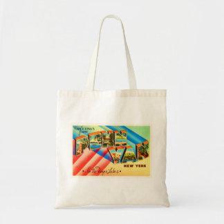 Penn Yan New York NY Old Vintage Travel Souvenir Tote Bag