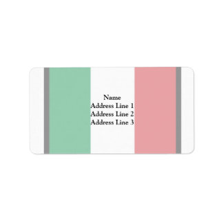 Pennant Of Italy, Italy flag Custom Address Labels