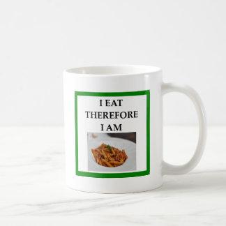 penne coffee mug