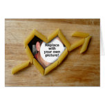 Penne Love Photo Template Folding Card