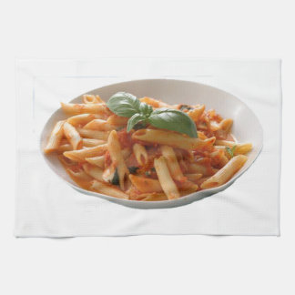 """Penne Pasta"" design kitchen towel"