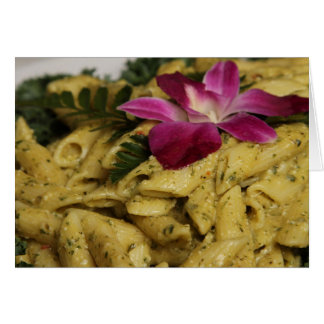 Penne Pasta Dish Card