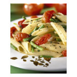 Penne with vegetables For use in USA only.) Photo Print