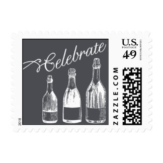 Penned - Celebrate - Gray Stamps