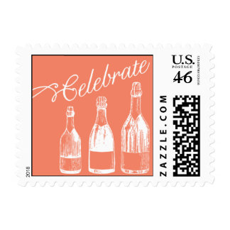 Penned - Celebrate - Pink Stamp