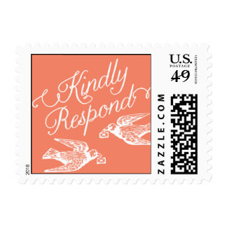 Penned - Kindly Respond - Pink Postage