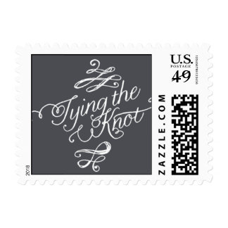 Penned - Tying the Knot - Gray Postage