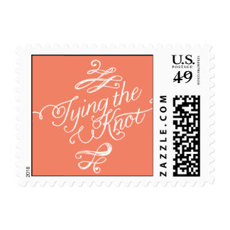 Penned - Tying the Knot - Pink Postage