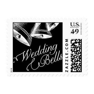 Penned - Wedding Bells - Black Postage