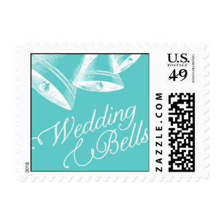 Penned - Wedding Bells - Blue Postage