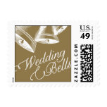 Penned - Wedding Bells - Gold Postage