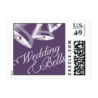 Penned - Wedding Bells - Purple Stamps