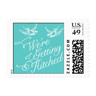 Penned - We're Getting Hitched - Blue Postage