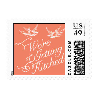 Penned - We're Getting Hitched - Pink Postage