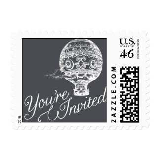 Penned - You're Invited - Gray Stamp