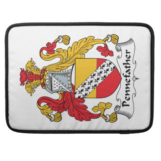 Pennefather Family Crest Sleeve For MacBooks
