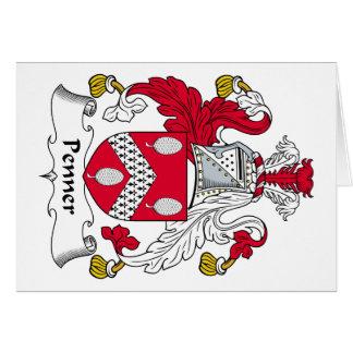 Penner Family Crest Card