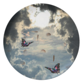 Pennies From Heaven Melamine Plate