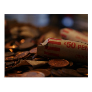 Pennies Postcard