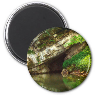 Penn's Cave 2 Inch Round Magnet