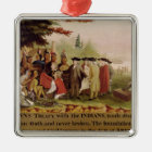 Penn's Treaty with the Indians in 1682, c.1840 Metal Ornament