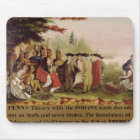 Penn's Treaty with the Indians in 1682, c.1840 Mouse Pad