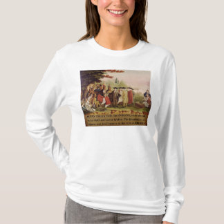 Penn's Treaty with the Indians in 1682, c.1840 T-Shirt