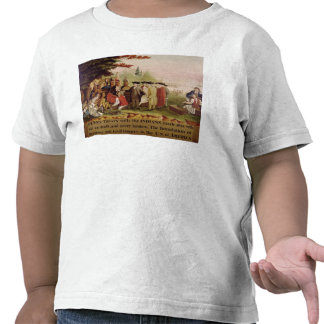 Penn's Treaty with the Indians in 1682, c.1840 T Shirts
