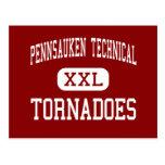 Pennsauken - tornados - Pennsauken técnico Postales
