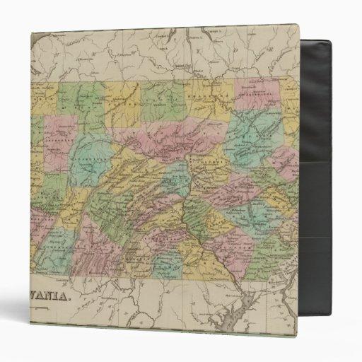 "Pennsylvania 10 carpeta 1 1/2"""