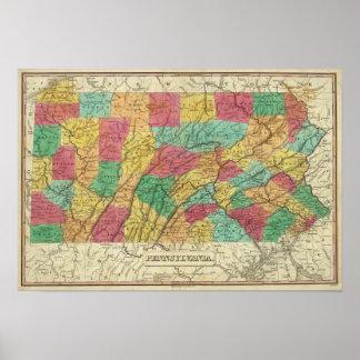 Pennsylvania 11 print