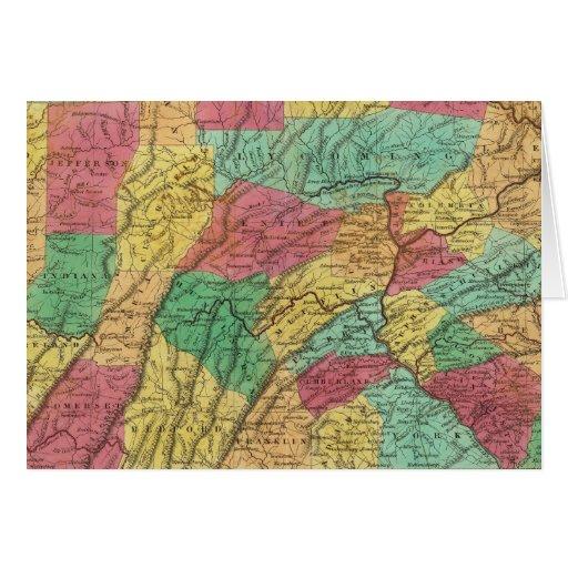 Pennsylvania 11 tarjeta de felicitación
