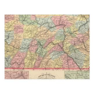 Pennsylvania 12 postcard