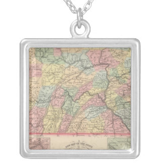 Pennsylvania 12 silver plated necklace