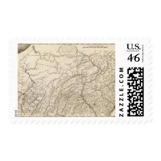 Pennsylvania 5 postage